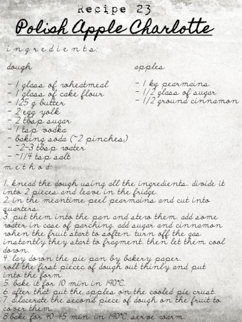 charlotte recipe